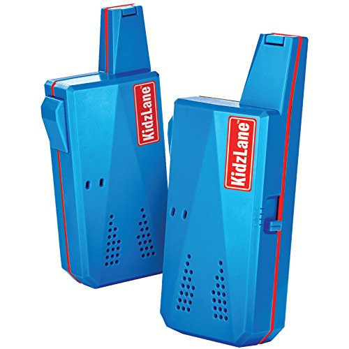 Kidzlane Durable Walkie Talkies, Easy To Use and Kids Friendly, 2 Mile Range, 3 Channel Kids Range