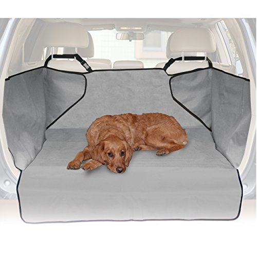 K&H Pet Products Economy Cargo Cover Gray - Protects Cargo Area of Your Car - Gray Small Cargo Liner