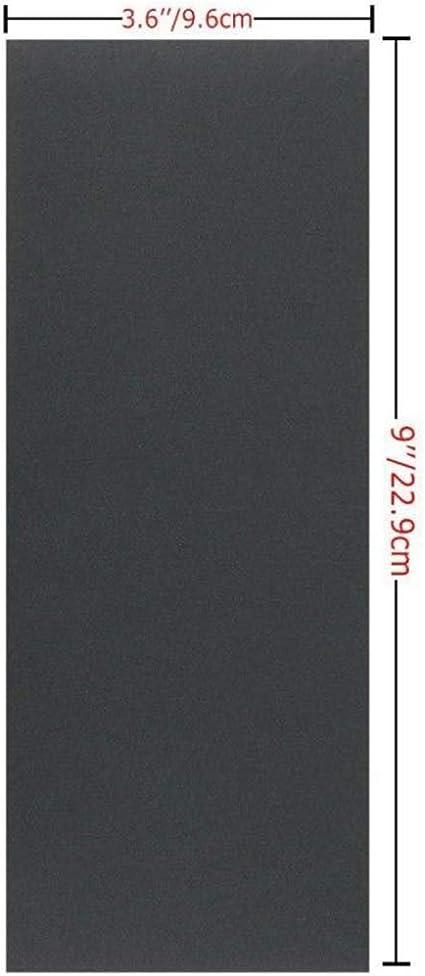 Papier de Verre Ensemble 90pi/èces//Ensemble Sec M/étal Eau Pon/çage Papier Abrasif Grain Humide Granularit/é Polissage Bois 400 /à 3000