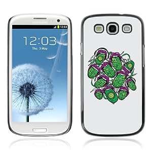 YOYOSHOP [Cool Abstract Neon Tongue] Samsung Galaxy S3 Case
