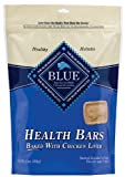Blue Buffalo Health Bars for Dogs, Chicken and Liver Crunch, 16-Ounce Bag, My Pet Supplies