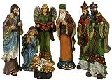 Elegant Resin Holy Family Nativity Set [85510088]