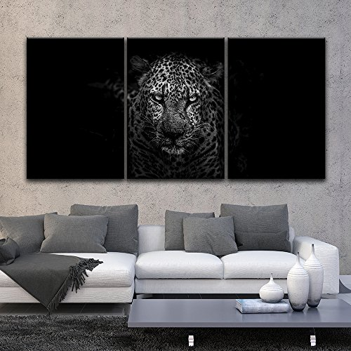 3 Panel Leopard Staring at the Front Gallery x 3 Panels