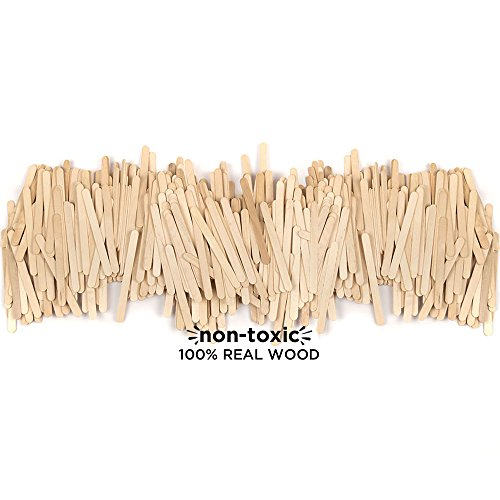 Horizon Group USA Classic Pine Wood Sticks for Craft, 4.5 inch (Pack of 4500), Assorted ()