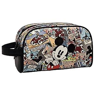 Disney Mickey Comic Neceser de Viaje, 4.99 Litros, Color Varios Colores