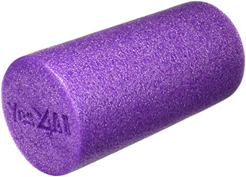 Yes4All Premium High Density Round PE Foam Roller for Physical Therapy, Pilates, Yoga, Stretching, Balance & Core Exercises with 4 Sizes (12, 18, 24 & 36 inch) - Multi Color from Yes4All
