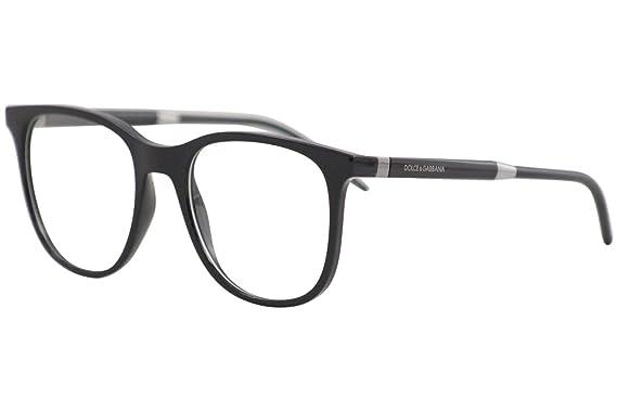 Amazon.com: Eyeglasses Dolce & Gabbana DG 5037 501 BLACK ...