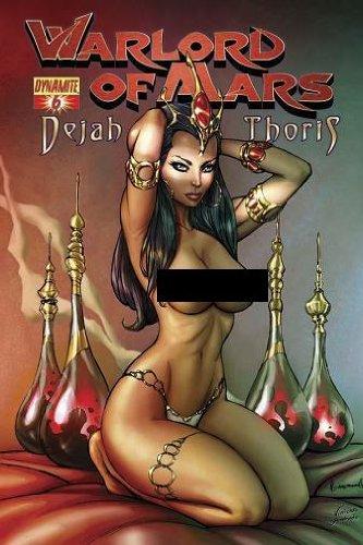 Warlord Of Mars Dejah Thoris #6 Retailer Incentive Ale Garza Risque Nude Art