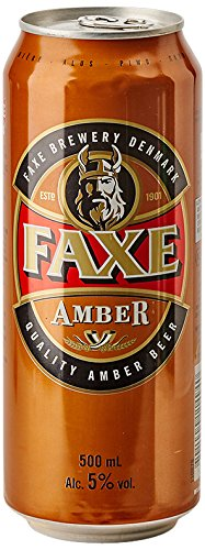6 opinioni per Faxe Amber- Lattina da 50 cl- [confezione da 6]
