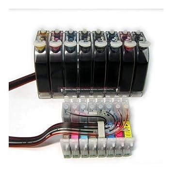 Amazon.com: gigablock CIS CISS sistema de suministro de ...