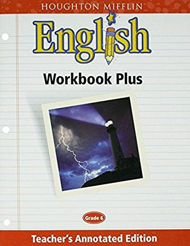 Houghton Mifflin English Workbook Annotated product image