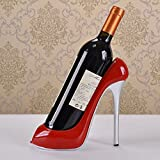 Cheap ATC® Unrestrained Passion Red High Heeled Shoes Decorative Wine Bottle Holder