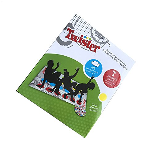 USUNO Funny Classic Twister Games - Twister Floor Game - Twister Ultimate Game for Family and Party. (Twister Game Mat)