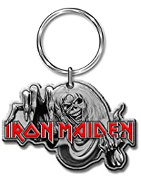 Iron Maiden The Number Of The Beast Cast Metal Keyring