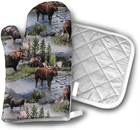 Xayeu Wildlife Animals Gloves 100 Resistance