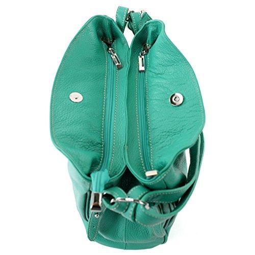 de Bolsa Cuero Bolsa hombro de hombro Aquamarin T119 hombro de de cuero Bolsa Bolsa dCxwrPCq