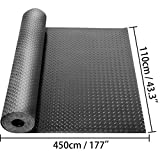 Happybuy Garage Floor Mats 2 Rolls 14.7 x 3.6 Ft