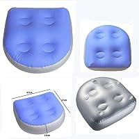 Sdkmah9 Booster Seat Hot Tub Spa Kussen Opblaasbare Pad, Zacht Comfort Spa Seat Kussen, Opblaasbare Bad Kussen, Antislip…
