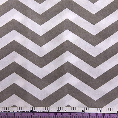David Angie 50147cm Chevron Printed 100% Polyester Fabric Patchwork for Sewing Tissue Cushion Bag Bedding Home Textile,47346