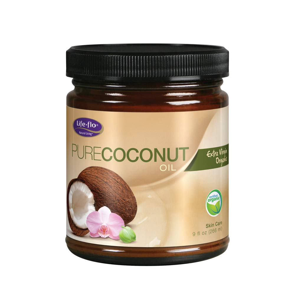 Life-Flo Organic Pure Coconut Oil, 9-Ounce 45836