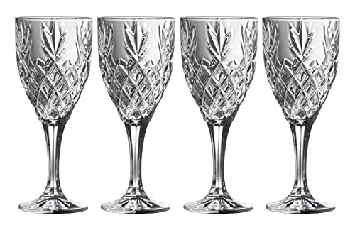 Galway Crystal 35000/4 Renmore (Set of 4) Goblets, Transparent