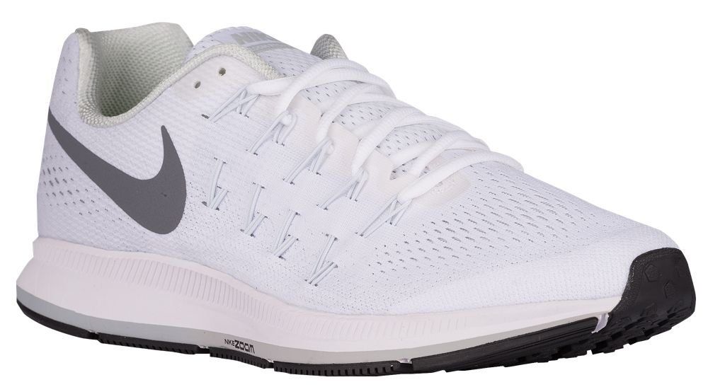[ナイキ] Nike Air Zoom Pegasus 33 - メンズ ランニング [並行輸入品] B071776D9W US06.5 White/Pure Platinum/Black/Cool Grey