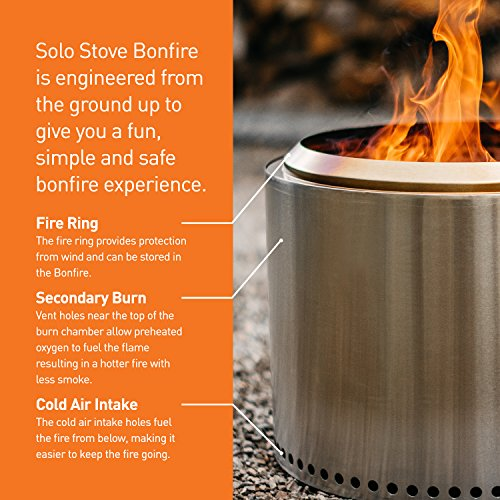 Solo-Stove-Bonfire-Super-Efficient-Backyard-Patio-Fire-Pit-Less-Smoke-So-Clothes-Wont-Smell-Modern-Stainless-Steel-Design-Great-for-Outdoor-Backyards-Pagodas-Decks-Camping-Festivals