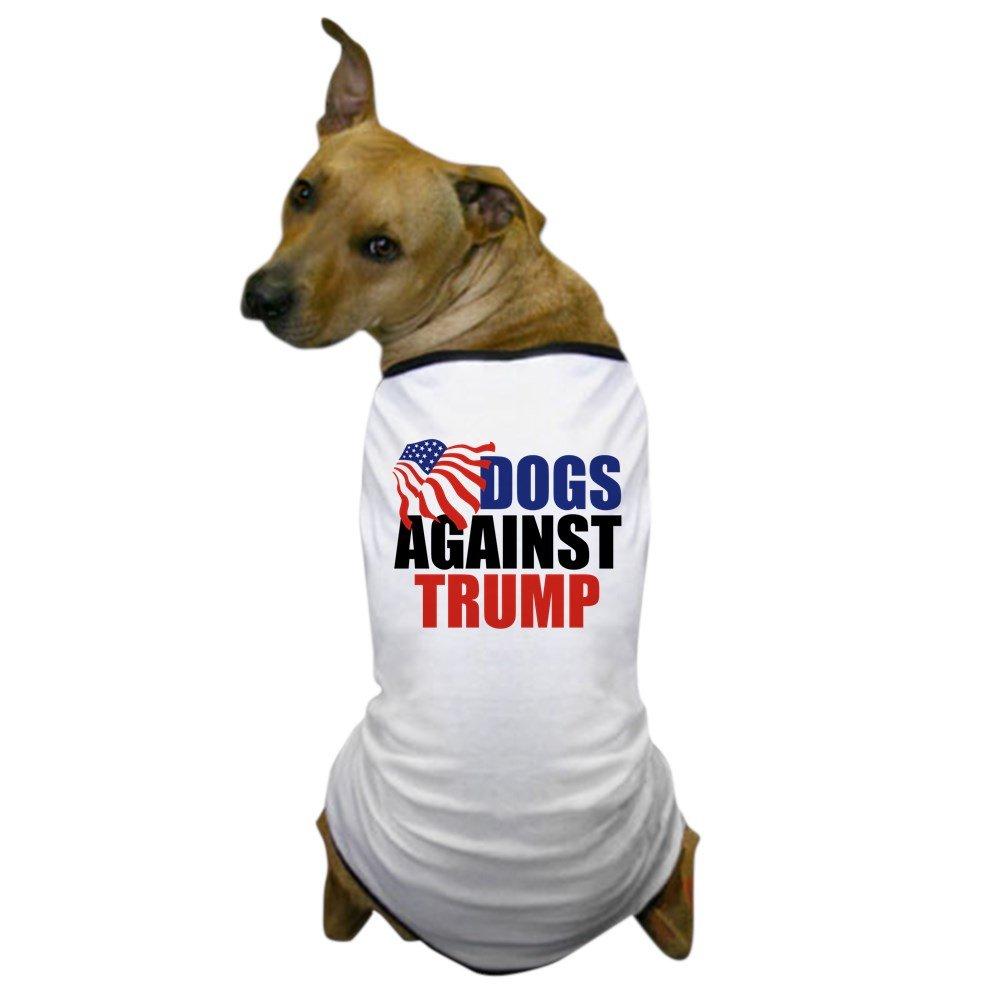 CafePress - Dogs Against Trump - Dog T-Shirt, Pet Clothing, Funny Dog Costume