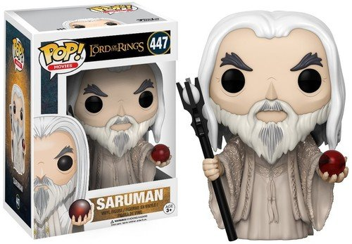 Funko POP Movies The Lord of The Rings Saruman Action Figure -