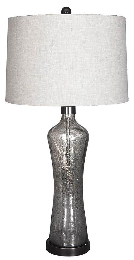 Ashley Furniture Signature Design Sharrona Glass Vase Style Table