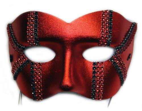 [Daredevil Trax Men's Masquerade Mask] (Masquerade Mask Men)