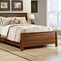 Sauder Carson Forge Queen Footboard with Rails, Washington Cherry