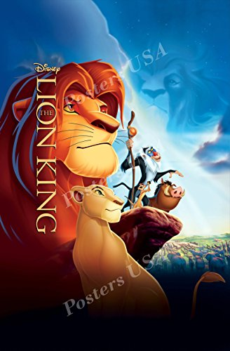 Posters USA Disney Classics The Lion King Poster - DISN084 (24