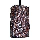 Bark One Light Pendant Bulb Type: Incandescent