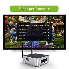 Zidoo Z10 4K Media Player Android 7.1 Tv Box NAS 2G 16G DDR Set Top Box 10Bit HDR Dual-WiFi 2.4G/5.0G,SATA3.0 3D Ultra…