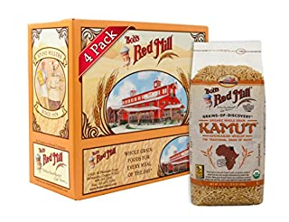 Bob's Red Mill Organic Kamut(R) Khorasan Wheat Berries, 24-ounce (Pack of 4) (B004VLSWFY)   Amazon price tracker / tracking, Amazon price history charts, Amazon price watches, Amazon price drop alerts