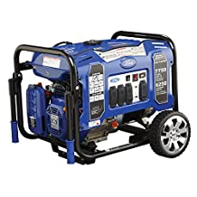 Ford M Series FG7750PE Gas-Powered Generator 7750W Peak/6250W Rated Electric Start Mobility Kit