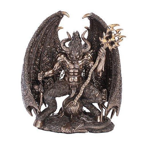 Pacific Trading PT Lucifer Devil Home Decor Statue-The Falling Angel, Satan