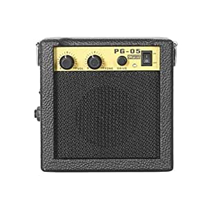 detectoy e wave pg 05 5w mini guitar amplifier guitar amp with 3 inches speaker. Black Bedroom Furniture Sets. Home Design Ideas