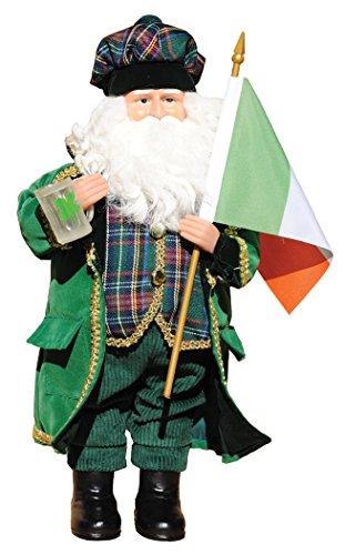 Santa's Workshop 9361 Irish Santa Figurine, 15