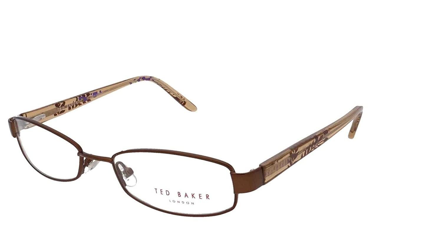 c11a08738 TED BAKER CINNAMON GIRL 2156 118 Glasses Spectacles Eyeglasses + Case +  Lense Cloth  Amazon.co.uk  Clothing