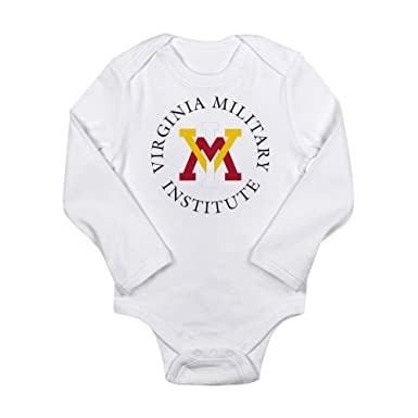 CafePress Virginia Military Inst - Cute Long Sleeve Infant Bodysuit Baby Romper
