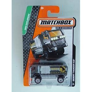 Desert Thunder V16 (Gray) Diecast Truck (Matchbox)(2013)