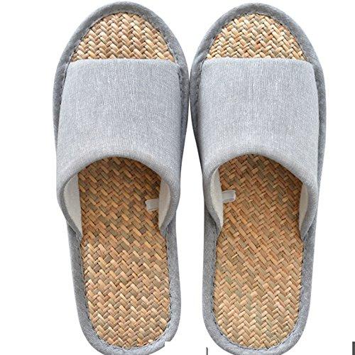 fredde estive Uomini e Trasporto Pantofole delle signore del donne cotone Ciabatte trascinamento di pantofole A domestiche pavimento Pantofole del impermeabile cotone delle coppie antisdrucciolevole ant AfUOnOdx