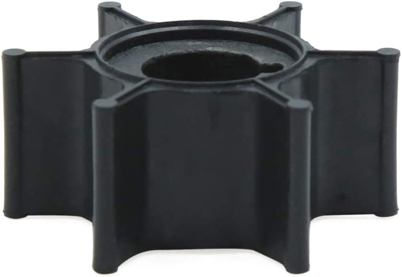 uxcell Black Boat Outboard Water Pump Impeller Replacement for Mercury 4 5hp 47-11590M