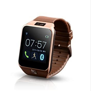 Amazon.com: V8 Bluetooth 4.0 WristWatch Smartwatch for ...