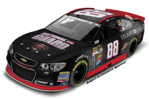 Dale Earnhardt Jr #88 National Guard Man of Steel 2013 Chevy SS NASCAR Diecast Car, 1:24 Scale ()