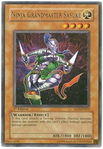 Yu-Gi-Oh! - Ninja Grandmaster Sasuke (SOD-EN019) - Soul of the Duelist - Unlimited Edition - Rare