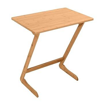 Cuiron - Mesa de bambú portátil para sofá, Mesa de Ordenador ...