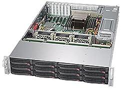 Supermicro SuperStorage Server - Rack-mountable - 2U - 2-way - RAM 0 MB - SAS - Hot-swap 3.5